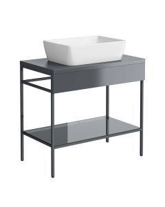 Synergy Berg 800mm Console Floor Mounted Grey