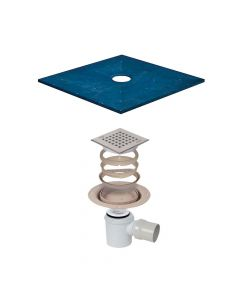 Synergy Wetroom 3 Former 1600 x 1067mm Gully included